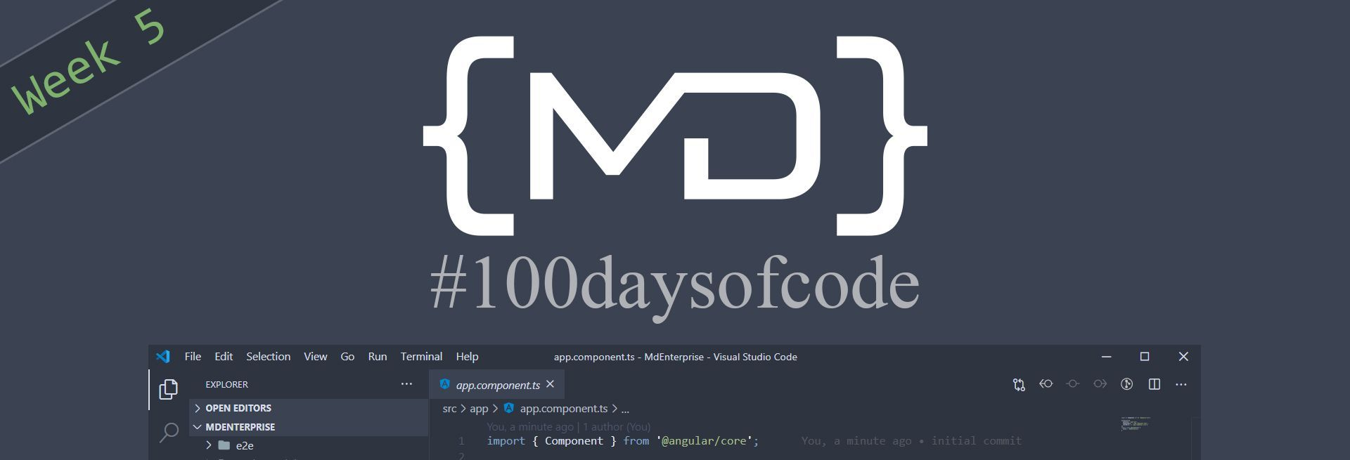 #100daysofcode Week 5